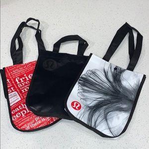 3 Small Lululemon Bags